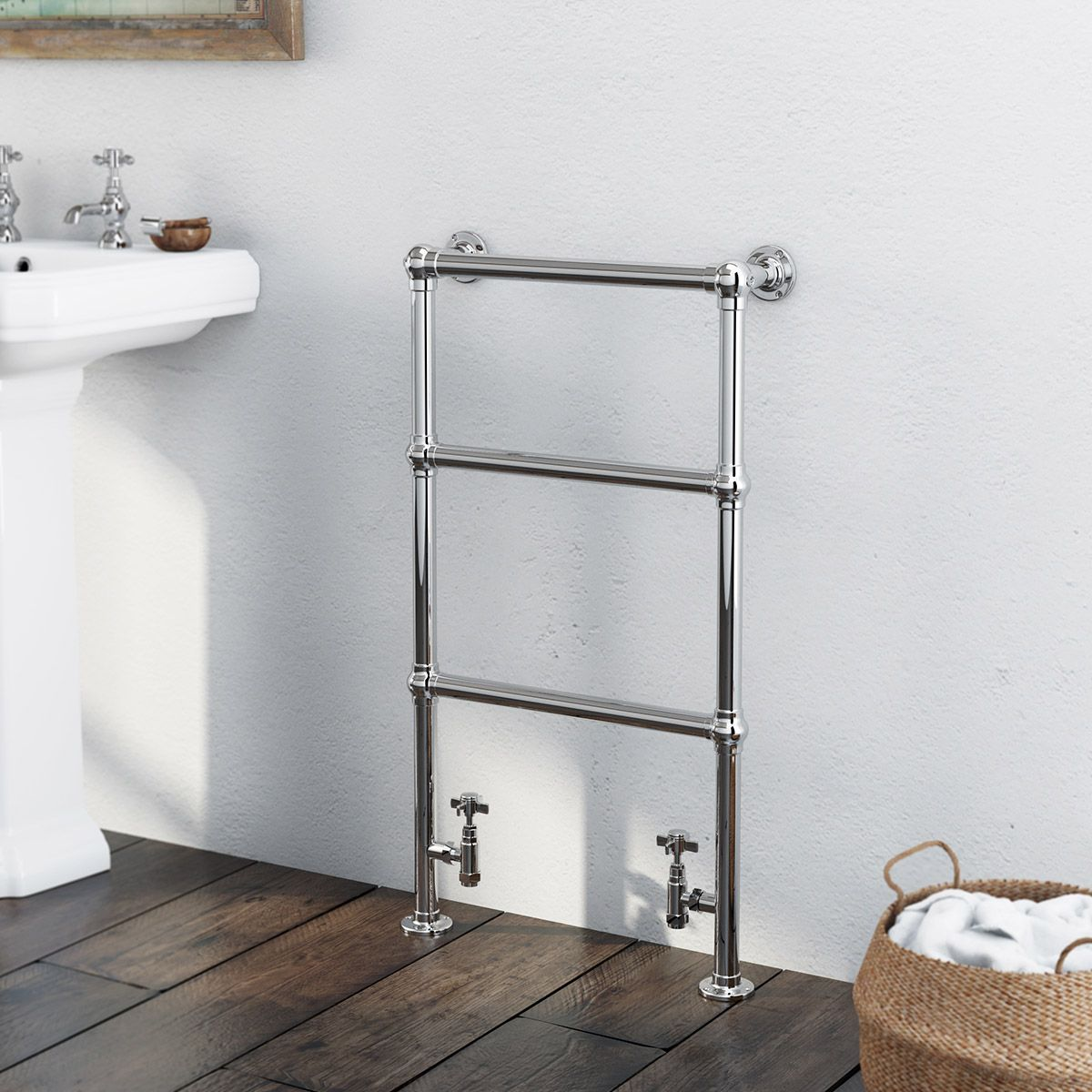Kensington Heated Towel Rail 914 x 535