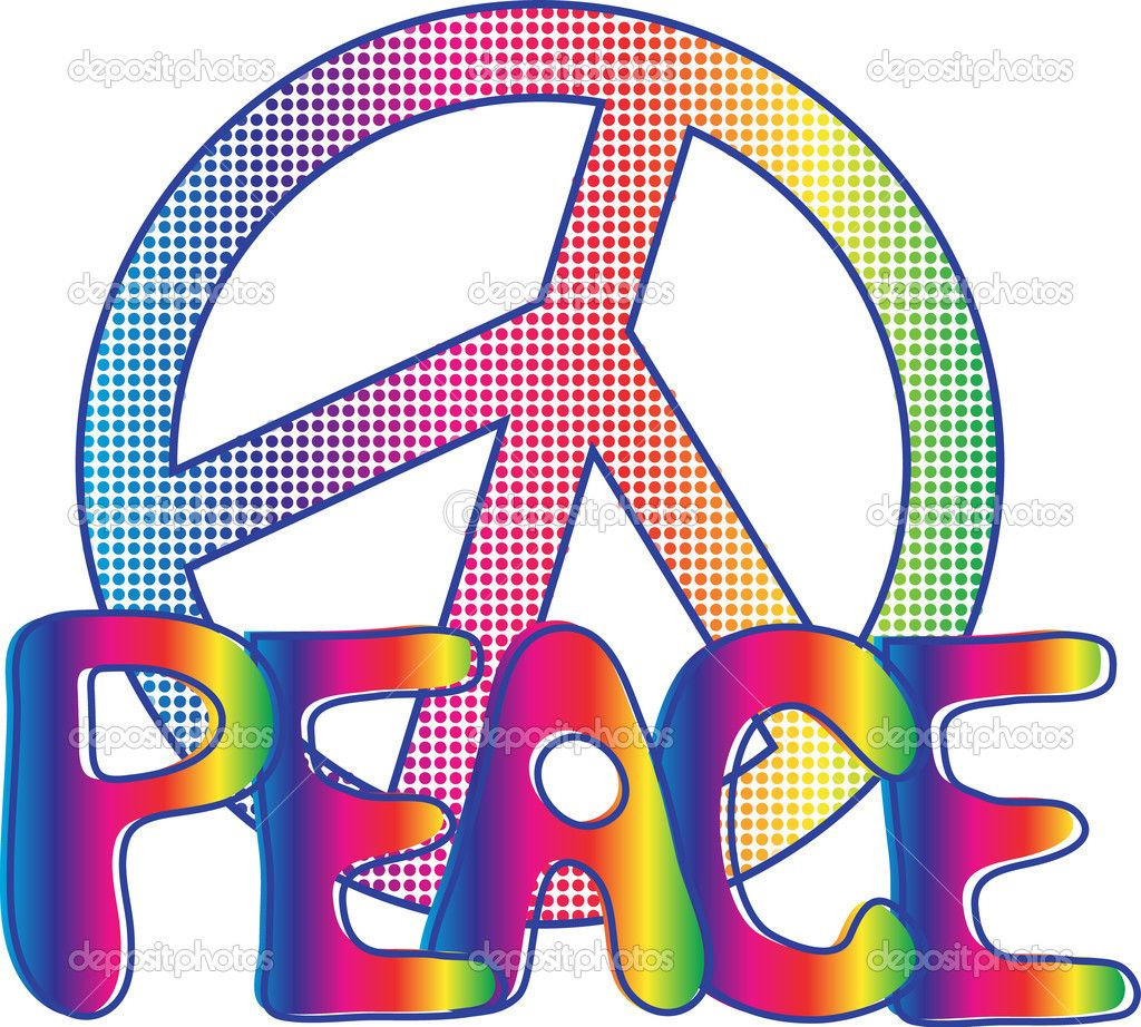 Hippie signs images passion to tropical coloured lenses flange illustration of peace text with peace sign vector art clipart and stock vectors biocorpaavc Images