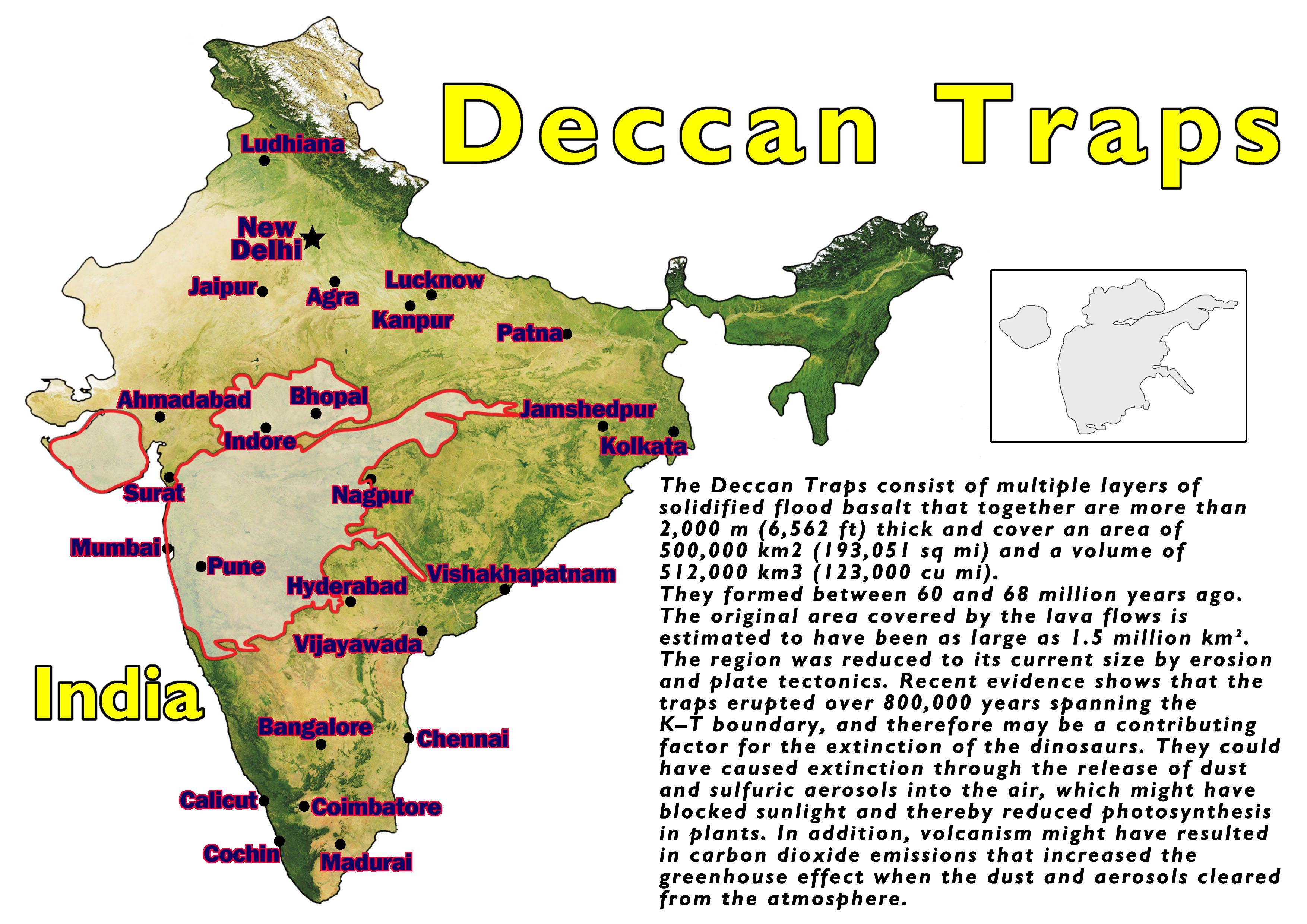 Deccan Traps India Dieulois