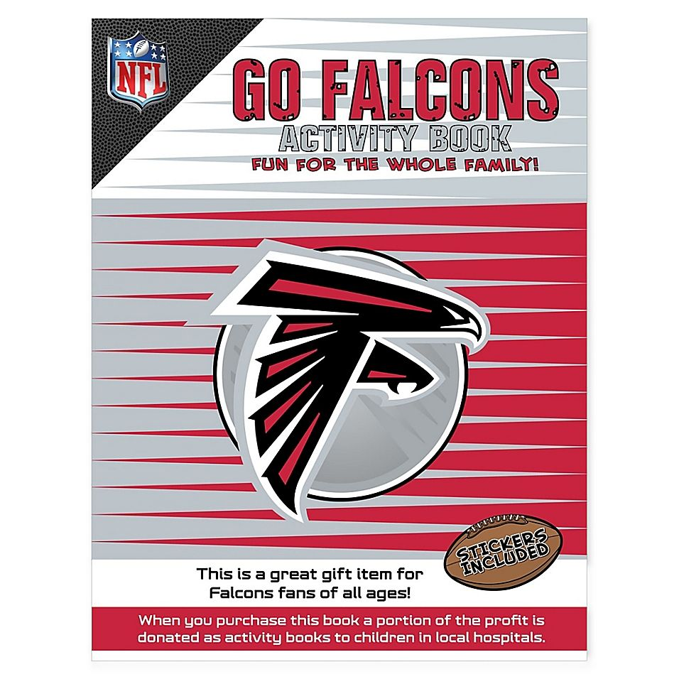 Nfl Go Atlanta Falcons Activity Book Kids Activity Books Book Activities Sports Games For Kids