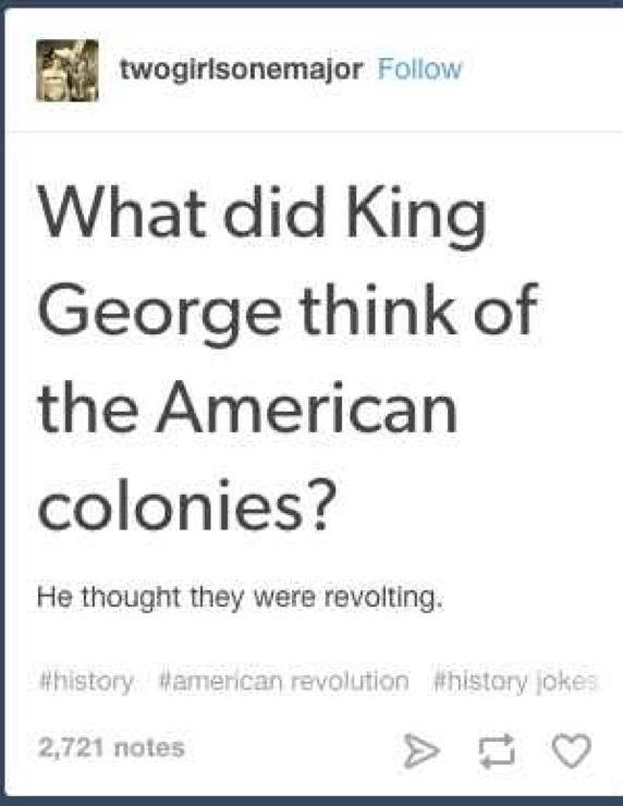 Hamilton History Jokes History Puns Historical Humor