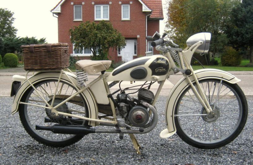 Needs Some Work 1950 Monet Goyon S3gd Bike Urious