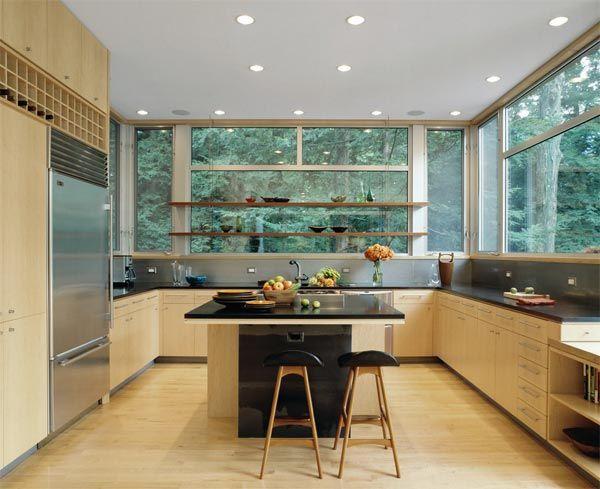 Blonde Wood Interior Design Kitchen Home Decor Kitchen Kitchen Renovation