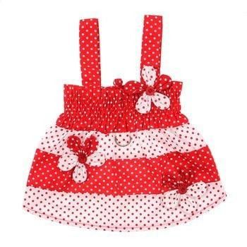 3f8d718c83 Polka Dot Dog Sundress by Klippo - Red and White. Go for a picnic in ...