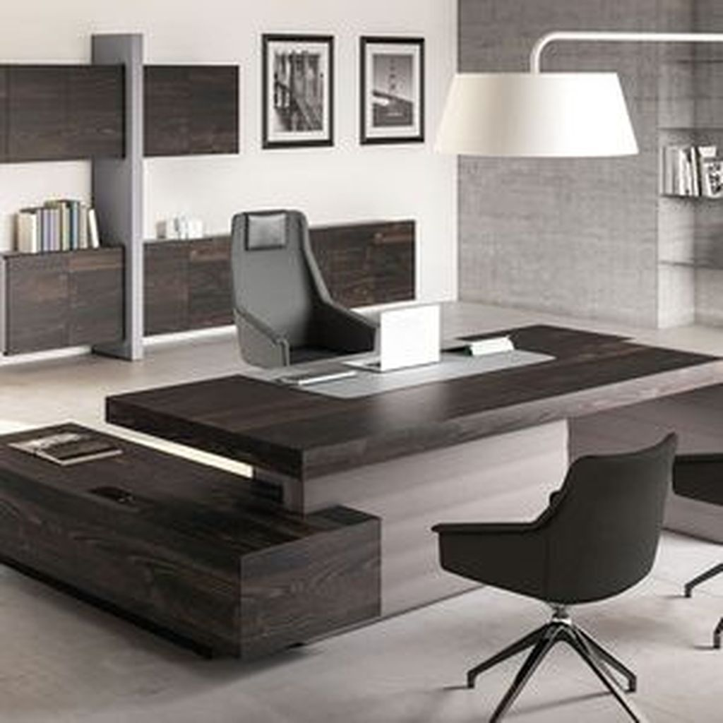 50 Inspiring Home Office Design Ideas Modern Office Desk Modern