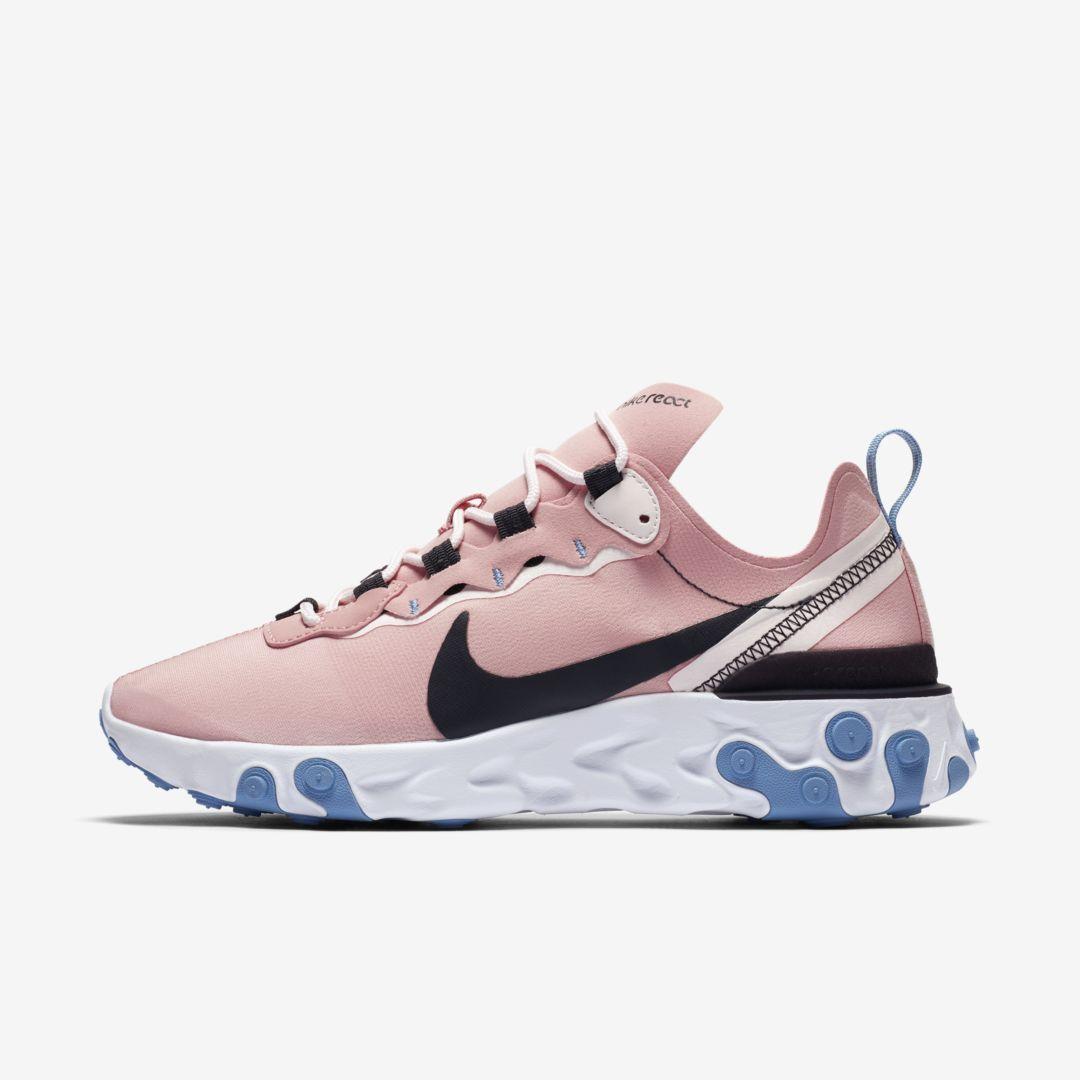 Nike React Element 55 Women's Shoe (Coral Stardust) in 2020