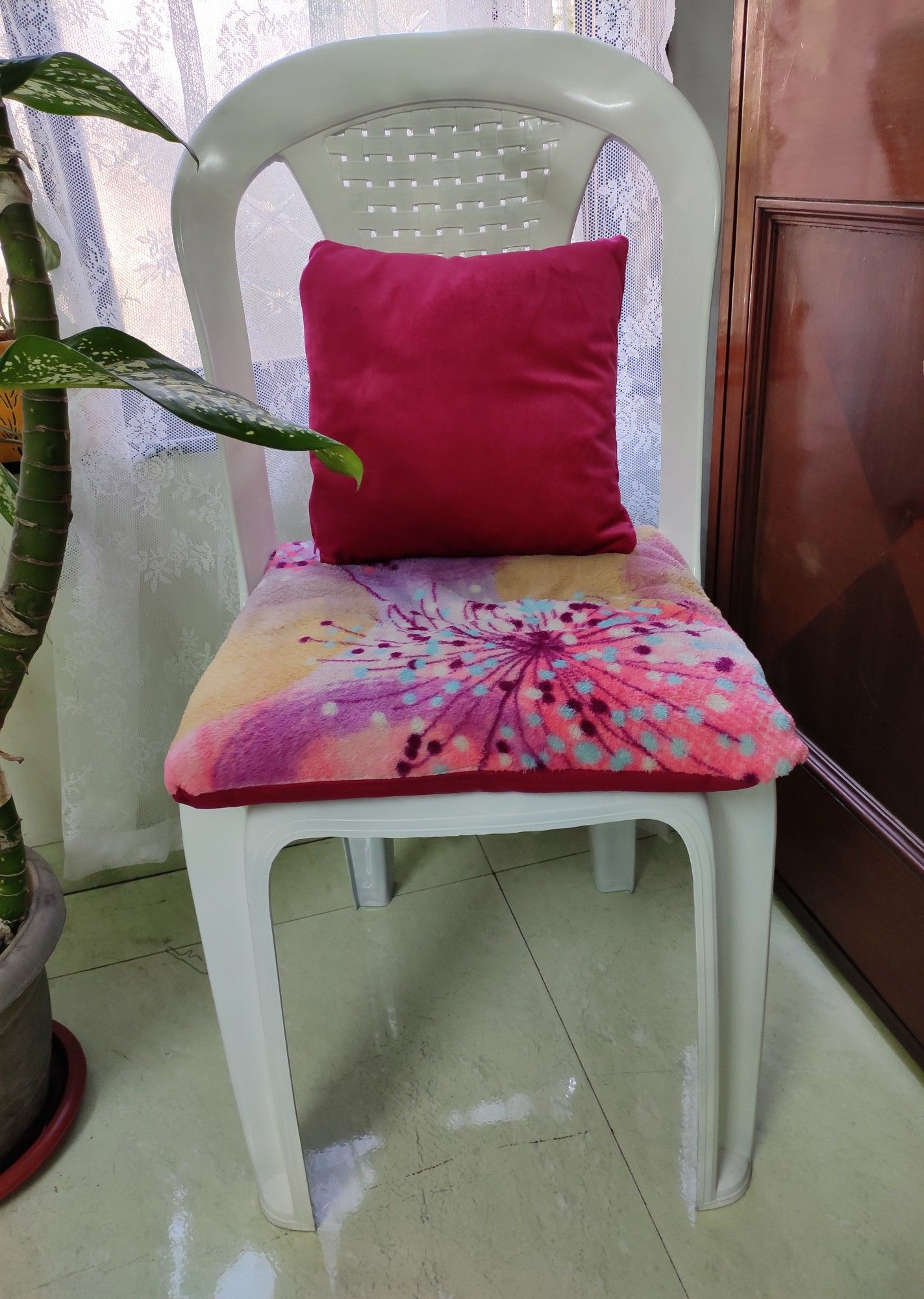 Decor DIY chair in 2020 Seat covers for chairs, Plastic