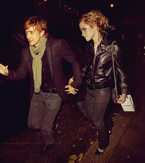 Tom Felton Emma Watson Fan Art Tom Emma Tom Felton Emma Watson Harry Potter Actors Harry Potter Cast