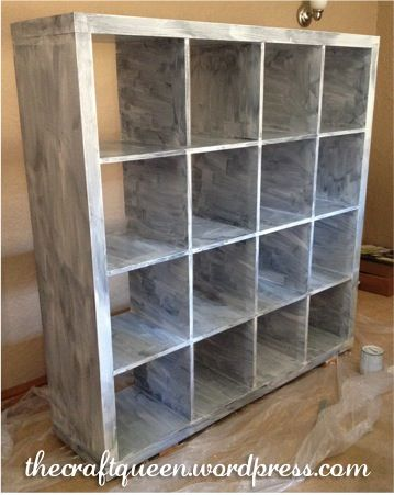 ikea expedit hack from The Craft Queen
