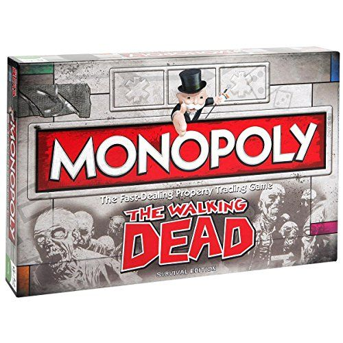 Winning Moves – 332407 – The Walking Dead Monopoly Survival Edition – Version Import