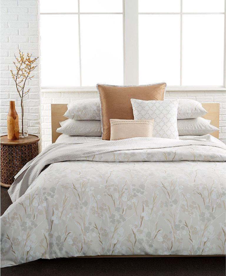 Calvin Klein Blanca Smoke King Comforter 2 Sham Set At Macy S 400 Calvinklein Comforter Sets Queen Comforter Sets King Duvet Cover Sets