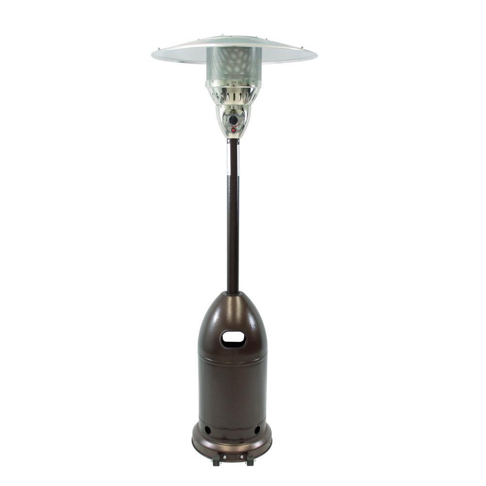 Dyna Glo 48 000 Btu Premium Hammered Bronze Gas Patio Heater