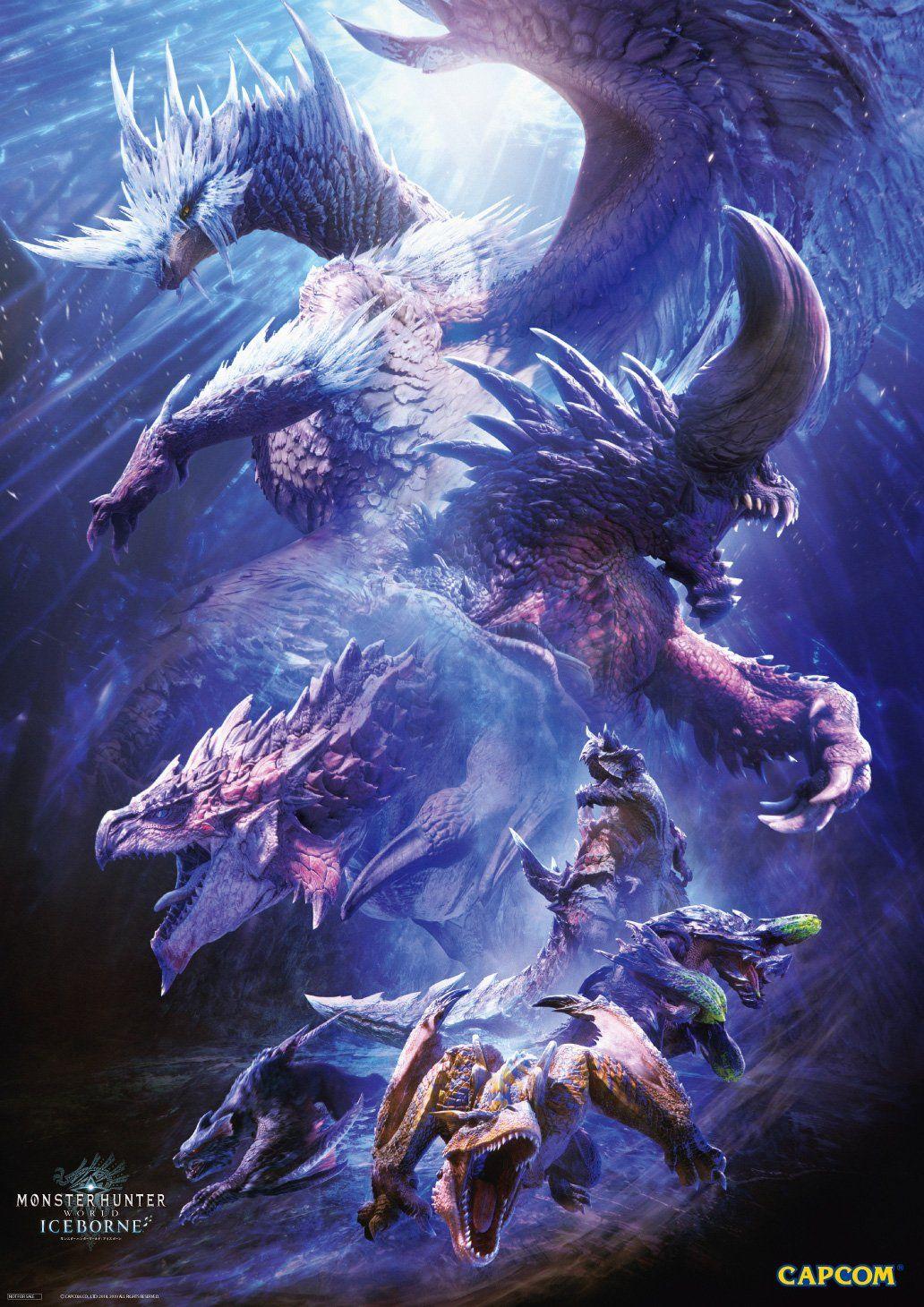 Monsterhunter World モンスターハンターワールド モンハン 壁紙