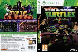 Teenage Mutant Ninja Turtles Capa Game Ps3 Com Imagens Capas