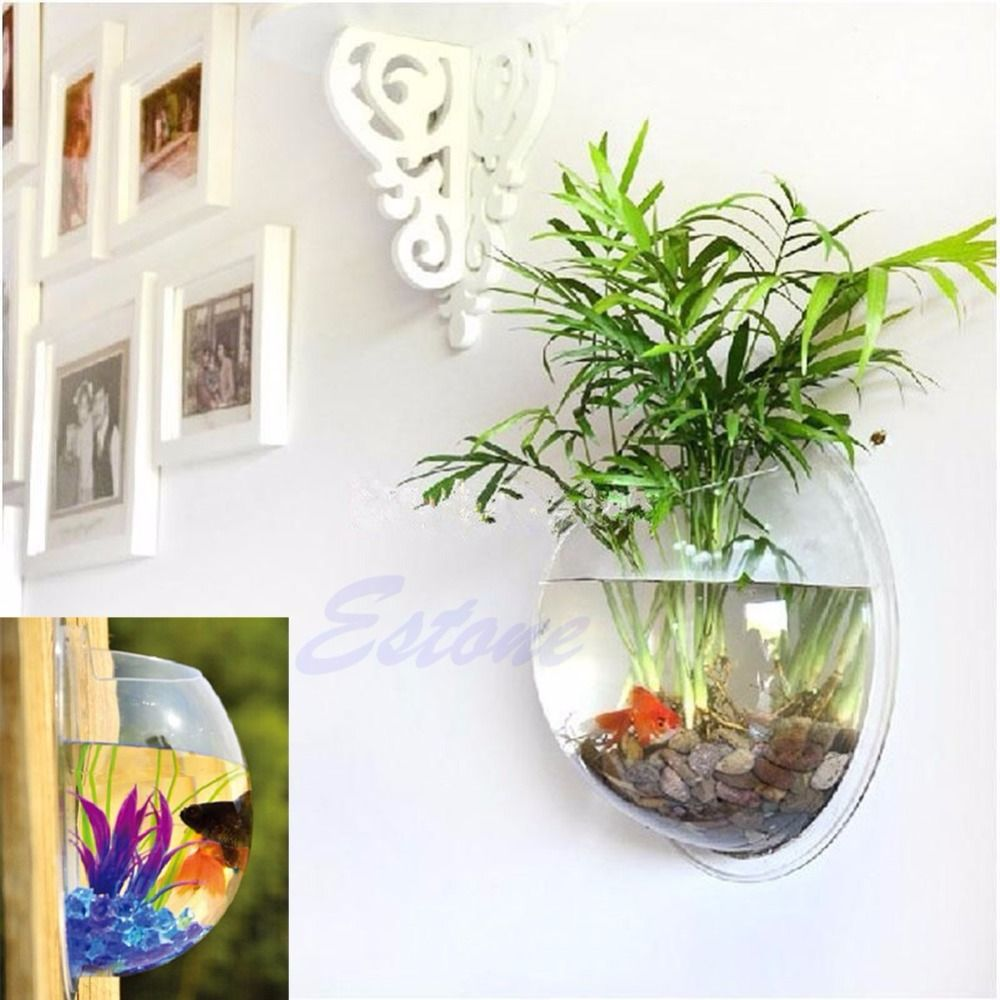Click to Buy << Home Decoration Pot Wall Hanging Mount Bubble ...