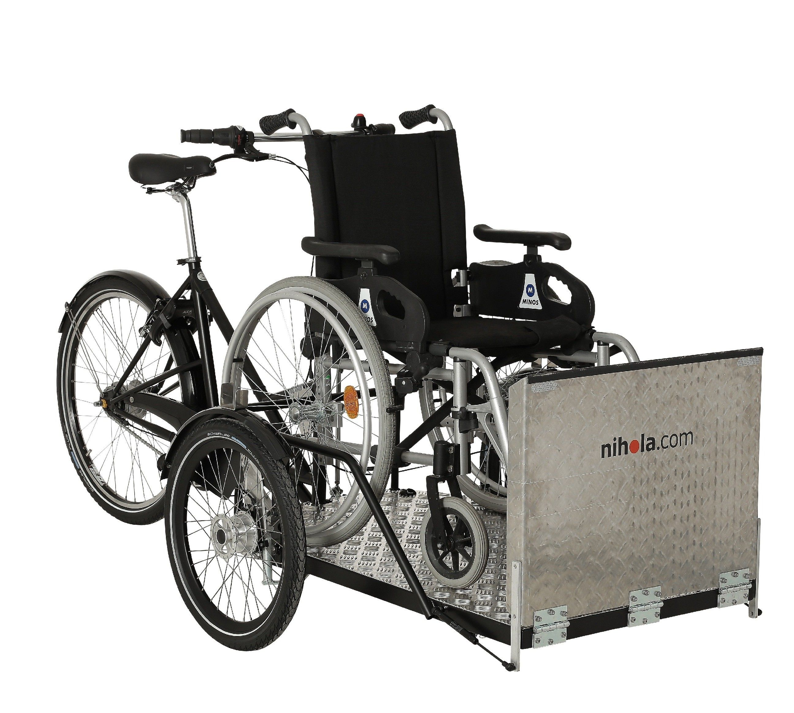 Flex a safe and lightweight cargo bike for riding with