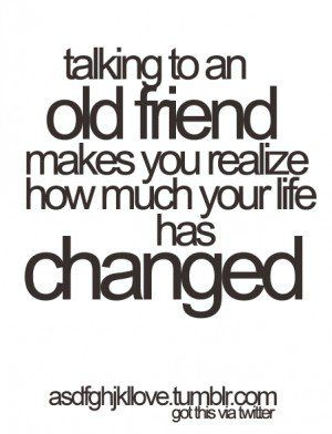Reconnecting With Old Friends Quotes Quotesgram Old Friend