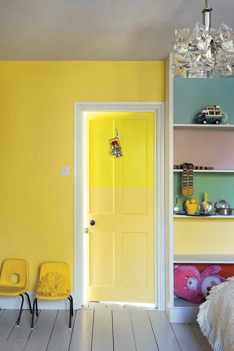 Colors That Compliment Yellow Kids Rooms Bedroom