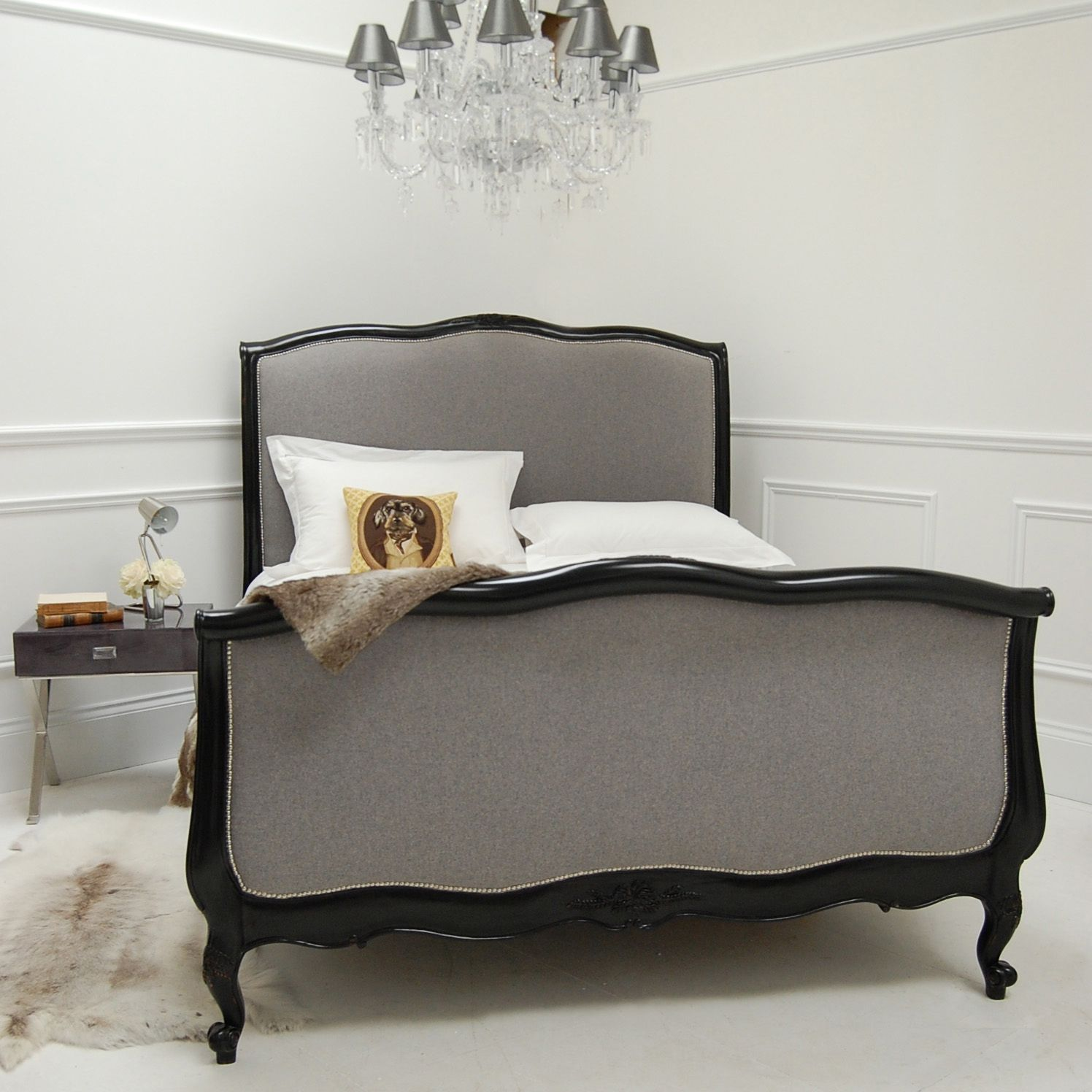 Modern Take On French Style Bed