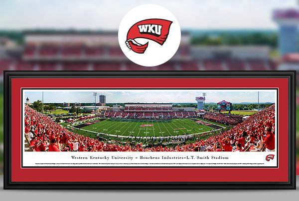 Western Kentucky University - WKU Hilltoppers Panoramic Pictures & Posters