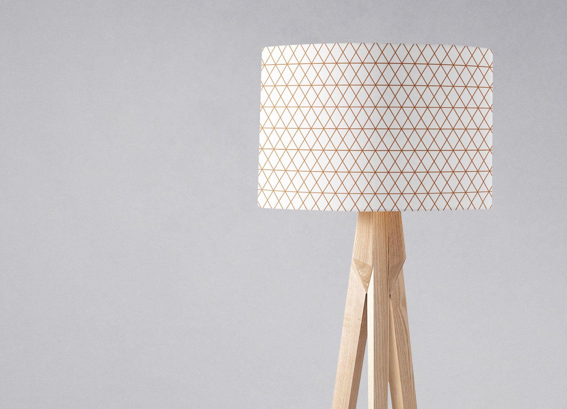 Copper Lamp Shade Modern Home Decor Geometric Lampshade Copper