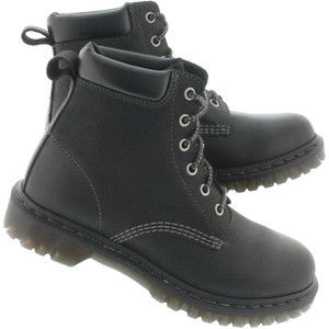 Dr Martens Womens' RUGGED 939 black hiking boots 16161001 ...