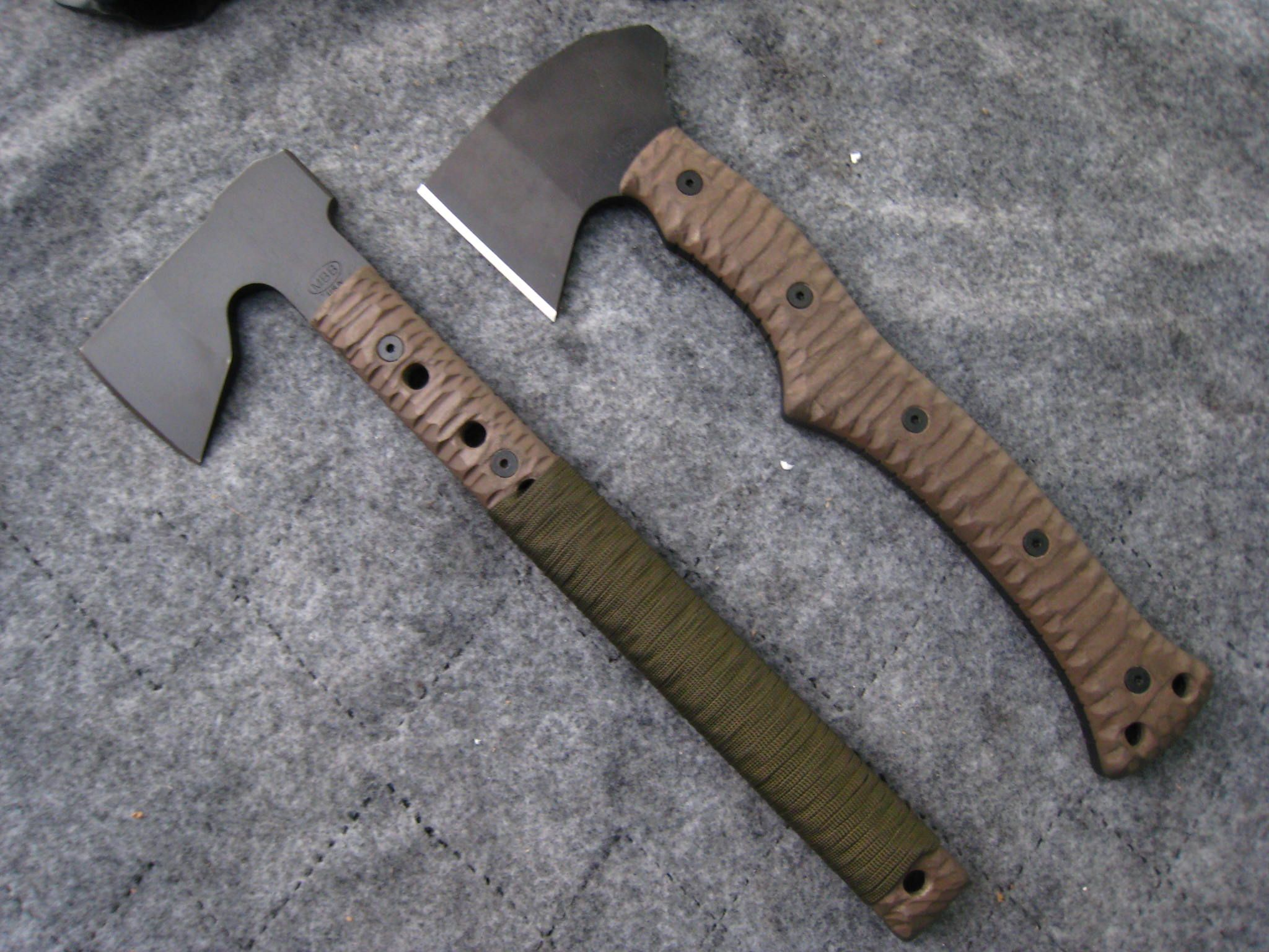 MBB Tomahawk Designs Miller Bros  Blades Custom Handmade