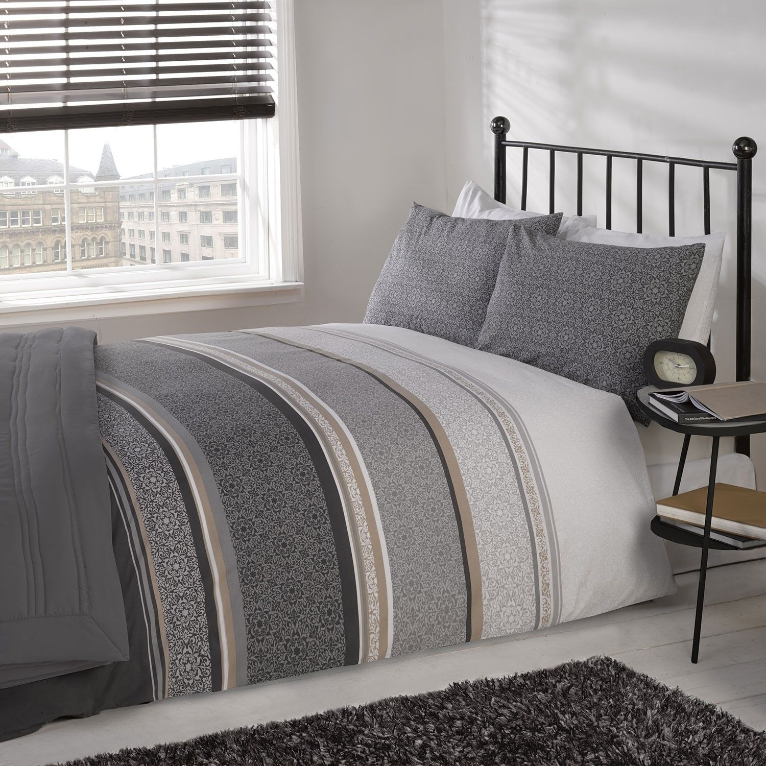 Ashford Silver Luxury Duvet Set Julian Charles From Cotton Bedding Setsluxury Sets When Designi