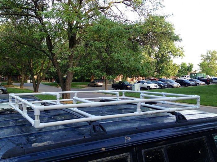 Pvc Roof Rack Jeep Cherokee Forum Roof Rack Pvc Roofing Car Roof Racks
