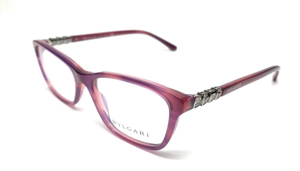 fbde03264c0 NEW BVLGARI 4097-B 5254 VIOLET EYEGLASSES AUTHENTIC FRAME RX-ABLE ITALY 51-