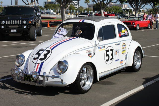 Herbie The Car Nascar Herbie And Got There Just In Time To Join