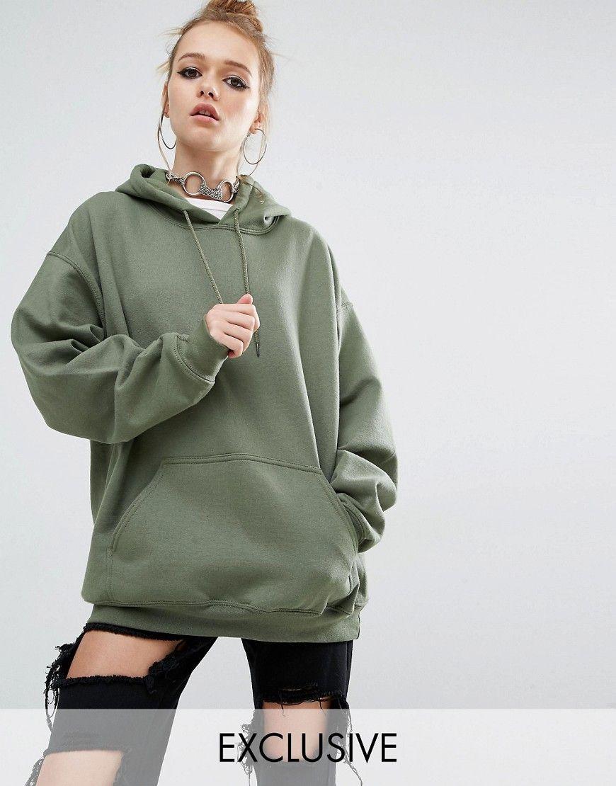 Reclaimed Vintage Oversized Hoody At Asos Com Hoodies Womens Sweatshirts Women Women Hoodies Sweatshirts