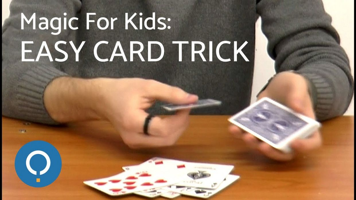 easy card tricks for kids  card tricks easy card tricks