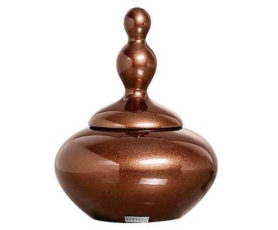 Vaso round poterie marrom - 28cm