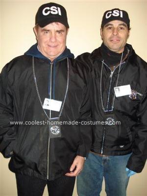 Coolest Homemade Csi Costume Costumes Detective Costume Csi
