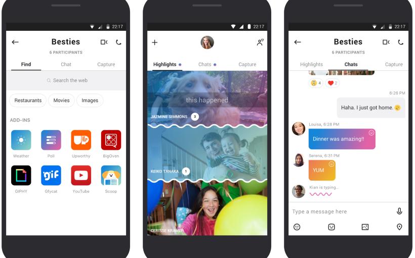 مايكروسوفت ت عيد بناء تطبيقها سكايب وتدخل ميزة القصص وأكثر Haha Capture Ads
