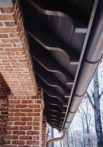 Rafter Tail Detail Private Residence Atlanta Ga By