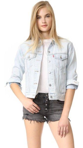 65c9fdc4 LEVI'S Ex Boyfriend Trucker Jacket. #levis #cloth #dress #top #shirt  #sweater #skirt #beachwear #activewear