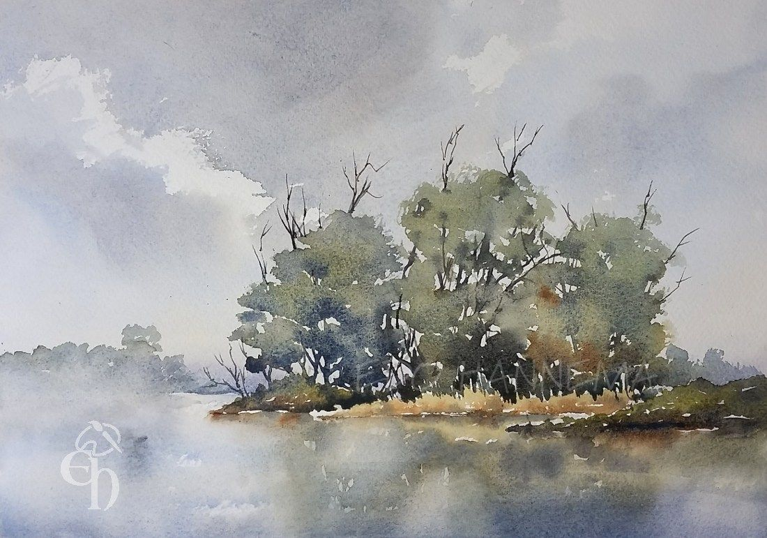 Gallery Watercolor Sky Painting Watercolor Landscape