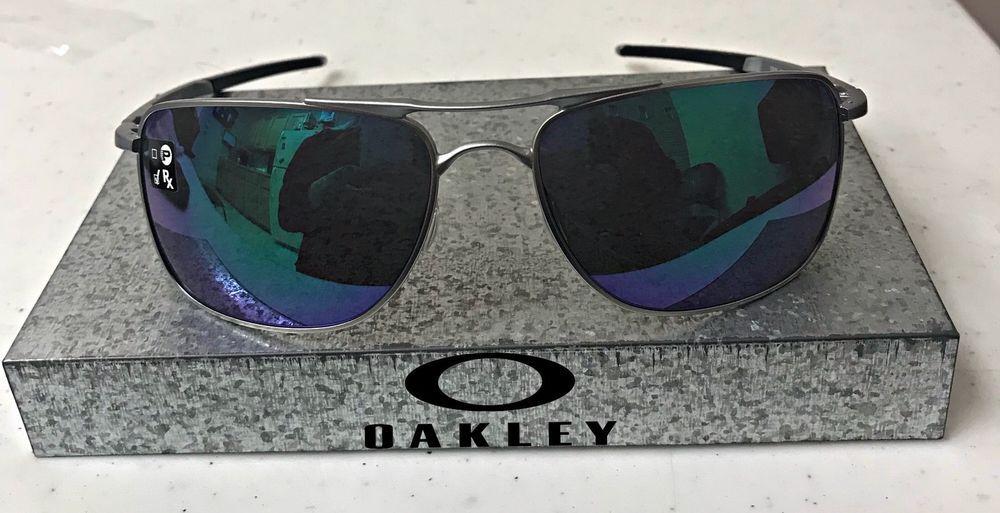 Oakley Gauge 8 >> New Oakley Gauge 8 Sunglasses Matte Lead W Jade Iridium