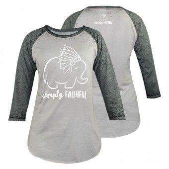 Gray with Dark Gray Sleeves Elephant