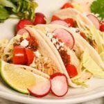 Slow Cooker Chicken Tacos: Pulled or Shredded #shreddedchickentacos