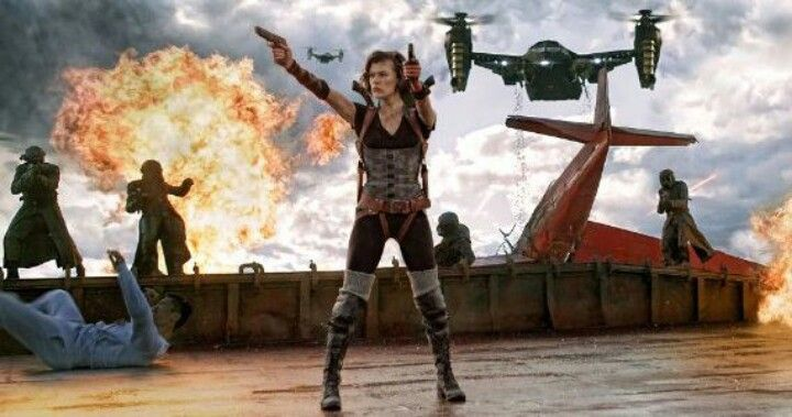 Resident Evil : Retribution. I watched it w/ tingky wingky @ citoz, 15 sept 2012.