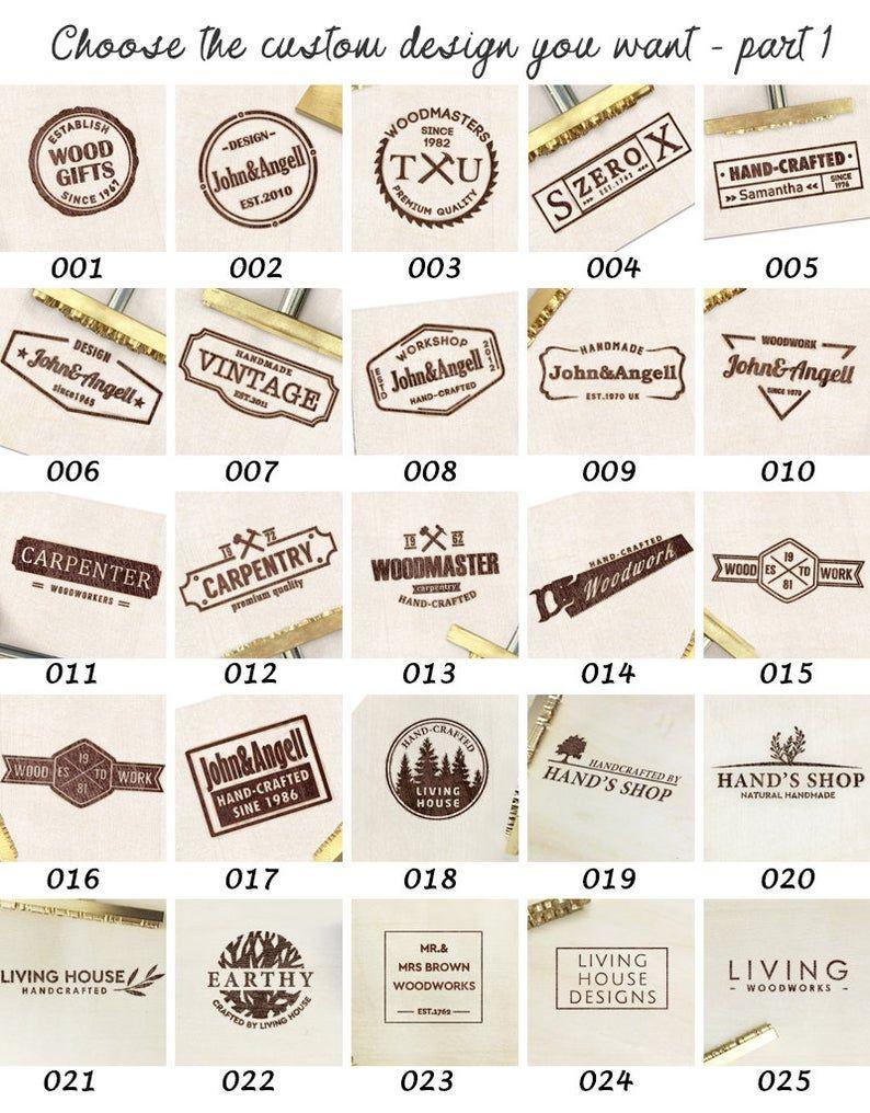 Custom Branding Iron Wood Brand Iron Leather Stamp Custom Metal Stamp Heat Emboss Stamp Custom Wood Brand Iron For Wood Meat Food In 2020 Custom Branding Iron Branding Iron Leather Stamps