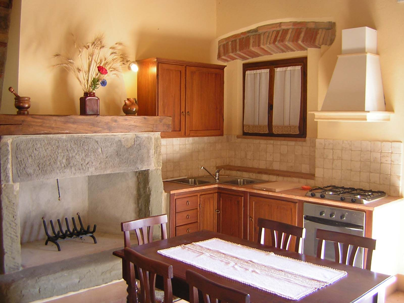 Cucina soggiorno con camino ~ mattsole.com