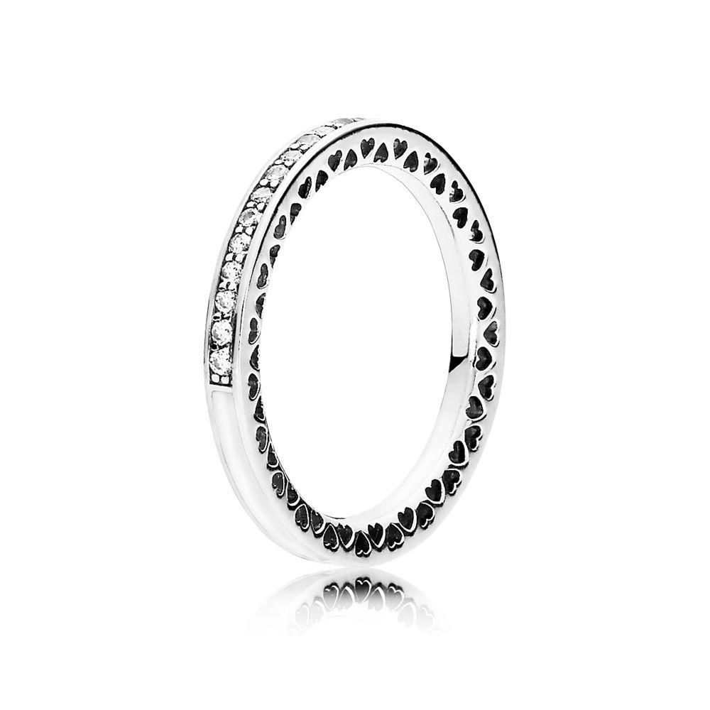 ea4ce8266 Silver Radiant Hearts of PANDORA Ring - PANDORA Australia eSTORE ...