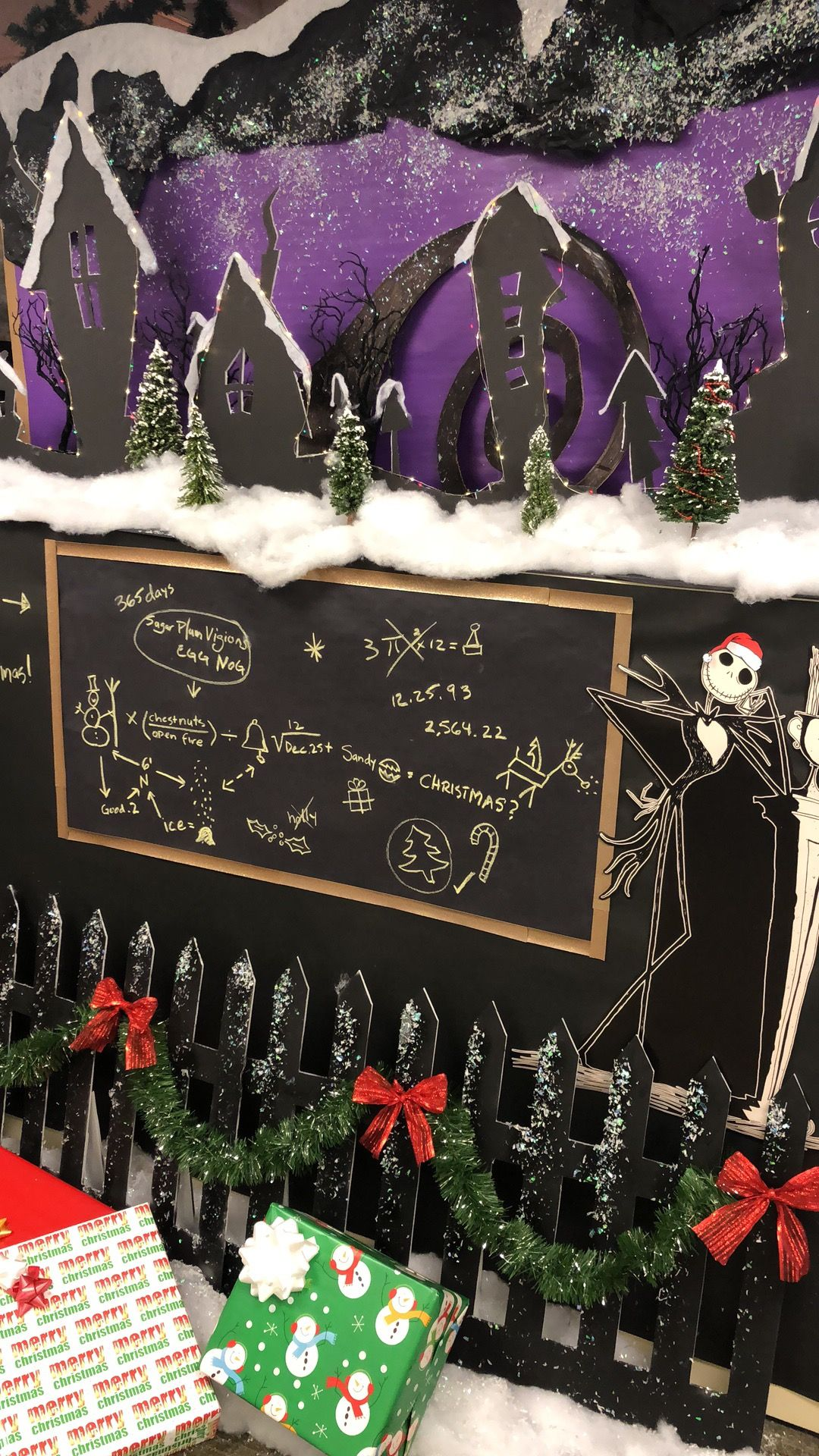 Nightmare Before Christmas at our office! Nightmare