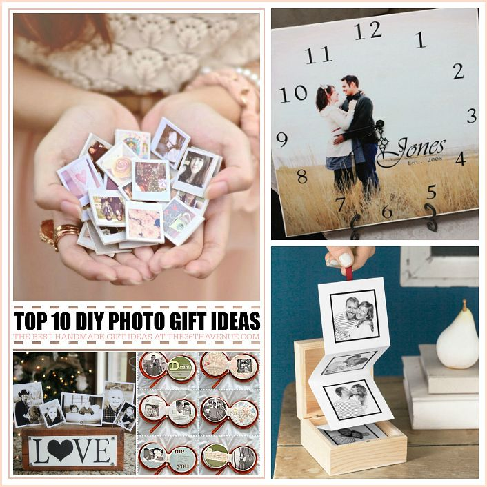 Top 10 Handmade Gifts Using Photos Diy Clean Handmade Birthday