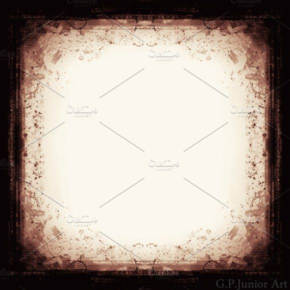 Grunge textured retro style frame Graphics High resolution grunge ...