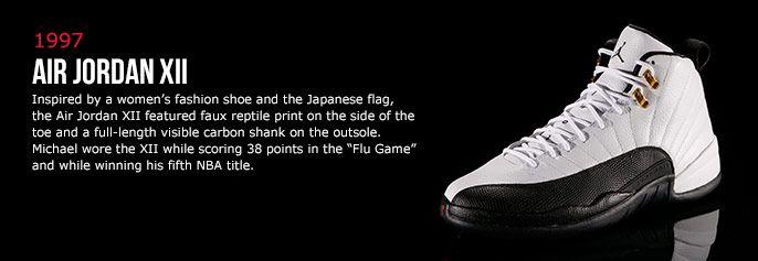 Air Jordan 12 Histoire